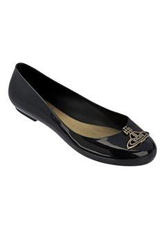 MELISSA Vivienne Westwood Anglomania + Melissa Vw Divine - Black. #melissa #shoes #shoes