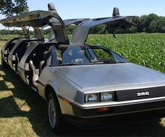 Great Scott! You've never seen a car quite like the DeLorean limousine! An American car enthusiast and a man with impeccable taste, Rich Weissensel has transformed this already classic car into a one of a kind masterpiece.