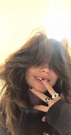 Cut My Hair, New Hair, Hair Cuts, Hair Inspo, Hair Inspiration, Fluffy Hair, Aesthetic Hair, Grunge Hair, Dream Hair
