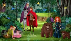 Disney Artwork, Disney Fan Art, Disney Drawings, Disney And Dreamworks, Disney Pixar, Walt Disney, Disney Nerd, Disney Crossovers, Disney Movies