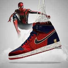 Avengers Endgame Air Jordans Designs is part of Marvel shoes - Artist CK creative shared some cool Avengers Endgame Air Jordans designs featuring Iron Man, Thanos and Dr Shoes, Nike Air Shoes, Hype Shoes, Air Jordan Shoes, Jordan Sneakers, Jordan Nike, Nike Air Jordans, Marvel Shoes, Marvel Clothes