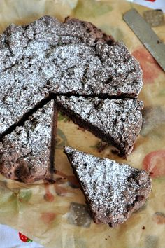 Kladkakka - Sweedish Chocolate Cake is the goto cake for the people of Sweden, the one they can rustle up in sleep even, all the ingredients are found in most pantries and its super easy to make. Moist & fudgy in the middle it is a yummy cake
