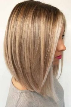 Thick hair styles, Thin hair haircuts, Haircut for thick hair, Blonde hair Hair lengths, Medium hair cuts - 18 Medium Length Hairstyles for Thick Hair - Thin Hair Haircuts, Haircut For Thick Hair, Straight Hairstyles, Hairstyles 2018, Trending Hairstyles, Long Bob Hair Cuts, Pixie Haircuts, Wavy Hairstyles, 2018 Haircuts
