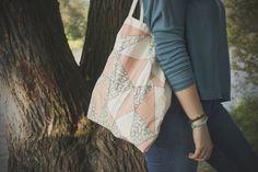 tote bag/ triangle