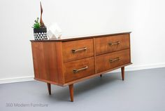 Mid Century Sideboard Console Drawers Myrtle Vintage Retro Scandi Fred Ward in Home & Garden, Furniture, Sideboards, Buffets & Trolleys | eBay 360 Modern Furniture $825