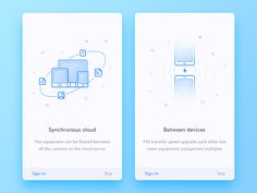 Guide Page designed by Dea_n. Connect with them on Dribbble; the global community for designers and creative professionals. App Ui Design, User Interface Design, Page Design, Icon Design, Card Ui, Splash Screen, Ui Web, Game Logo, Ui Inspiration