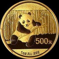 2014 Chinese Gold Panda Bullion Coin - Reverse Side
