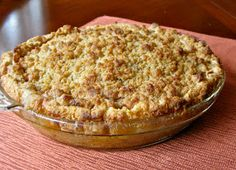 My Own Sweet Thyme: French Apple Pie