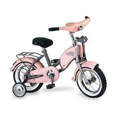 "Morgan Cycle Morgan Retro 14"" Bicycle - Pink----super cute! Nai needs this in her life"