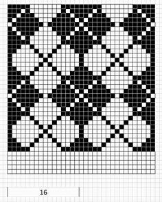 9 Best Images of Argyle Fair Isle Charts - Fair Isle, Argyle Knitting Chart Pattern and Reindeer Fair Isle Pattern Charts (Can't find the pattern on the site, but this pic is the full pattern) Fair Isle Knitting Patterns, Fair Isle Pattern, Knitting Charts, Loom Patterns, Knitting Stitches, Knitting Designs, Crochet Patterns, Crochet Chart, Crochet Motif