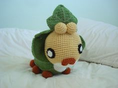 CROCHETED POKÉMON PLUSHIES: Sewaddle