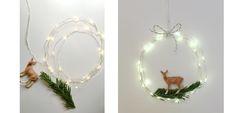 guirnaldas alambre estrellas, fairy lights, led, decoración, navidad