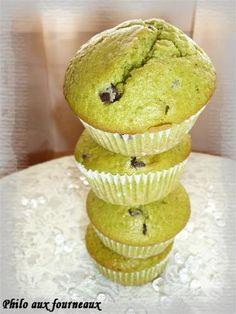 Muffins+à+la+pistache+&+aux+pépites+de+chocolat
