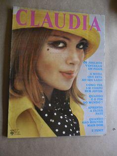 Claudia Nº72 Set/1967 Moda Propagandas Antigas Fogão Etc