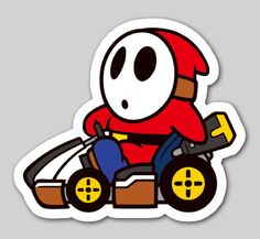 Nintendo Badge Arcade - Shy Guy