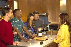 """""""Cheers!  Watch last night's #NewGirl with the link in our bio."""""""
