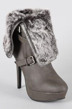 winter heels <3