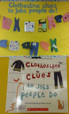 Community helpers bulletin board (Inferring using clues and schema)