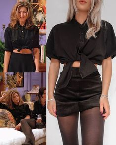 Rachel Green inspired outfits - ☕️🗽 By: Spring is in the air! Today I bring to your attention inspiring casual outfit ideas for women. Rachel Green Outfits, Friends Rachel Outfits, Estilo Rachel Green, Friend Outfits, Rachel Green Style, Rachel Green Fashion, Rachel Friends, Retro Outfits, Cute Casual Outfits