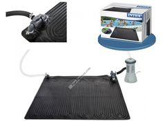 ¡Hola amigos! Os presentamos un novedoso sistema de climatización para tu piscina desmontable. Alfombra calentador solar de la marca Intex. Es un producto muy económico y de sencilla instalación, puede calentar el agua de 3 a 5 grados. http://www.top-piscinas.com/accesorios-para-piscinas-climatizacion/alfombra-calentador-solar-intex-ref-56012.html