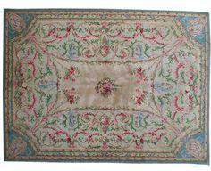 tapis d 39 aubusson napoleon iii tapis d 39 orient. Black Bedroom Furniture Sets. Home Design Ideas
