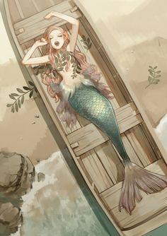 Ideas For Drawing Mermaid Anime Inspiration Art, Character Inspiration, Character Art, Character Sketches, Character Reference, Pose Reference, Art Anime, Manga Anime, Geisha Anime
