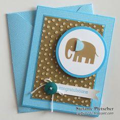 The Crafty Medic: Baby Elephant