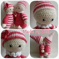 Cuddly baby's, patroon van Lilleliis, gemaakt door Andrea R.