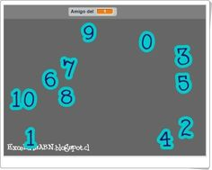 Los amigos del 10 (ExceLuisABN) Learning Numbers, Maths Area, Interactive Activities, Teaching Resources, Games