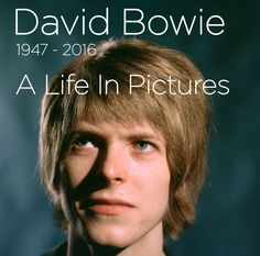The legendary singer, songwriter and actor died on 10 January at the age of 69. Here is David Bowie's life in pictures.