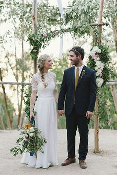 A sweet and simple South African wedding
