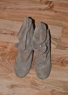 Kup mój przedmiot na #vintedpl http://www.vinted.pl/damskie-obuwie/botki/15205287-kremowe-botki-newyorker