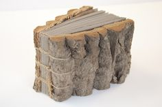 handbound book (I would love to give this book credit if anyone know's who the maker is)