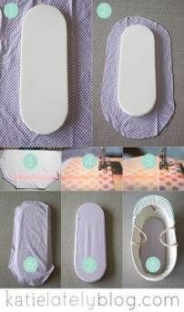 baby doll 34 Ideas Diy Baby Doll Bed Sweets For 2019 Baby Doll Bed, Doll Beds, Baby Dolls, Baby Sewing Projects, Sewing Tutorials, Baby Room Diy, Diy Baby, Baby Bassinet, Bassinet Ideas