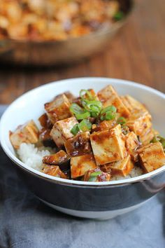 Eggplant Mapo Tofu Tofu Recipes, Vegetarian Recipes, Healthy Recipes, Healthy Food, Mapo Tofu Recipe, Chinese Eggplant, Low Sodium Soy Sauce, Nigella, Meal Planner