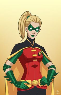 Robin 4.0 (Stephanie Brown) commission by phil-cho on DeviantArt