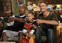 "Antwon Tanner (Antwon ""Skills"" Taylor) , Jackson Brundage (James Lucas Scott) , & Chad Michael Murray (Lucas Scott) - One Tree Hill"