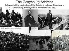 The Gettysburg Address - This Day in History: November 19, 1863: On this day in the year 1863, Abraham Lincoln, 16th President of the United States, took the podium to dedicate a small portion of a field in Gettysburg, Pennsylvania to the thousands of men who lost their lives there during the Battle of Gettysburg. To the amazement of all at that time, as well as in recorded history, he managed to deliver one of the best speeches in American history in less than two minutes.