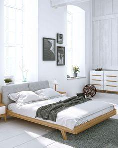 cool 59 Gorgeous Modern Scandinavian Bedroom Design  http://about-ruth.com/2017/10/20/59-gorgeous-modern-scandinavian-bedroom-design/
