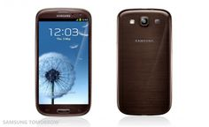 Samsung Galaxy S3 Gets New Colors - Red, Brown, Gray and Black. Now available in US stores