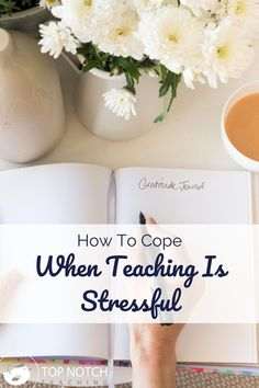 In normal times, teaching is stressful. And these aren't normal times. Teaching is stressful right now, even more than usual. We can't control the virus or the regulations and restrictions we are working with, but we can take steps to take care of ourselves or make other aspects of teaching easier. When teaching is stressful here are 4 things to try. Classroom Management Strategies, Teaching Strategies, Teaching Tips, Learning Resources, Teacher Resources, Teacher Education, New Teachers, Teacher Organization, Teacher Hacks
