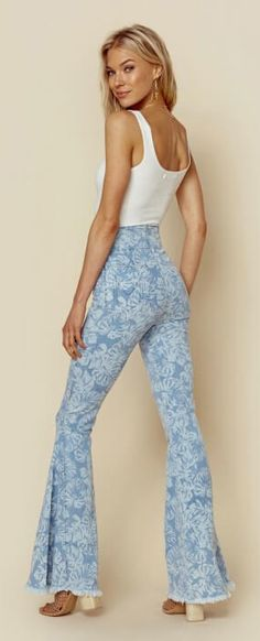 #boho #jeans #denim #70s #bohostyle