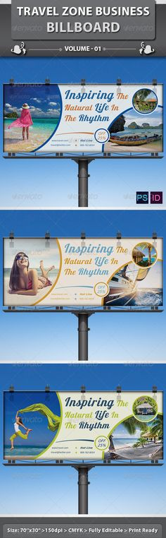 Travel / Tourism Business Billboard | Volume 1 #journey #tour Download : https://graphicriver.net/item/travel-tourism-business-billboard-volume-1/6420424?ref=pxcr