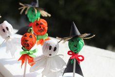 Dulce Calabaza - Paleta decorada para Halloween