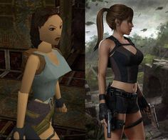 Puberty... but wait...wasn't the newest Tomb Raider a prequel? I don't even.. Whatever! She's still super hot.