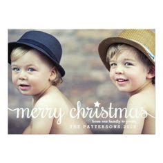 Shop Modern Merry Christmas Big Photo Card created by kat_parrella. Personalize it with photos & text or purchase as is! Merry Christmas, Christmas Photo Cards, Christmas Photos, Christmas Greetings, Christmas Wrapping, Holiday Messages, Holiday Cards, Holiday Gifts, Xmas Cards