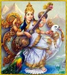 Shiva Art, Krishna Art, Hindu Art, Shri Ganesh, Ganesha Art, Hare Krishna, Divine Goddess, Mother Goddess, Divine Mother