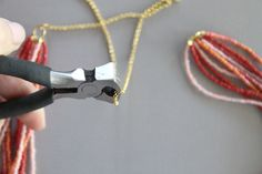 How to make multi-strand necklaces.
