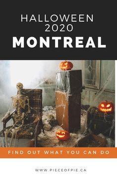 Looking for activities to do in Montreal and surrounding area like Laval and the West Island for Halloween? We have museums, trick or treating, scary games, online virtual events and more. #montreal @escaparium @visitmontreal #laval @TourismeLaval #trickortreat #greetandtreat #rockyhorrorpictureshow #escaperoom #pumpkins