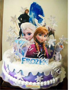 Torta de Fozen - Frozen Cake Detalles con Calidad